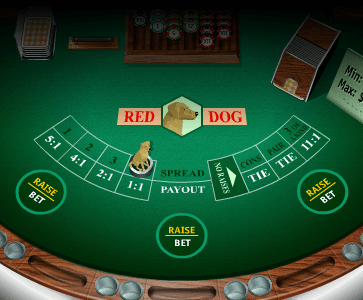 Red Dog poker, also known as Red Dog or Yablon